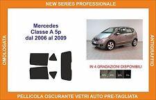 pellicola oscurante vetri pre tagliata mercedes classe a 5 p 2006-2009