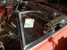 1963 buick special convertible L.H. quarter window frame complete