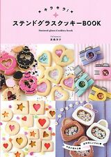 Stained Glass Cookies Book Recipe Cute Colorful Candy Sweets Make DIY from JAPAN