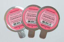 LOT OF 3 BATH BODY WORKS WATERMELON LEMONADE SCENTPORTABLE FRAGRANCE CAR REFILL