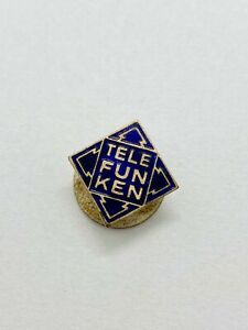 Vintage Telefunken Enamel Badge