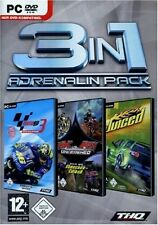 PC * Adrenalin Pack * Juiced + MotoGP 3 + MX vs. ATV Unleashed * 3in1 ***NEU*NEW
