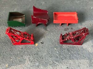 WHITE METAL RECOVERY CRANES AND LORRY BACKS FOR WRECKER USE SUIT MODEL BUS