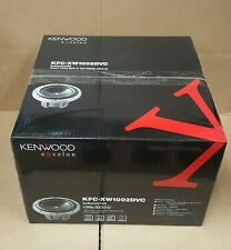 Kenwood Excelon KFC-XW1002DVC 10-inch Dual 2-ohm Voice Coil Subwoofer * NEW *