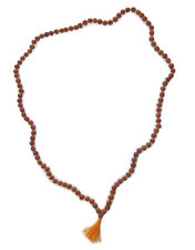 3 M.M..TINY and rare Rudraksha mala of 108+1 Hindu prayer beads