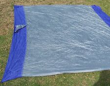 New Parachute Silk Nylon Beach Blanket Picnic Camping Lightweight Purple