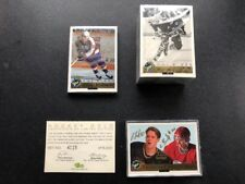 1992 Classic Hockey Gold Wooden Box Set W/Bure Brothers Auto  #4115/6000!