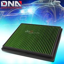 FOR MALIBU/LACROSSE/REGAL GREEN REPLACEMENT RACING DROP IN AIR FILTER PANEL