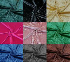 2 Way Stretch Crush Velvet Drapery Holstery Fabric