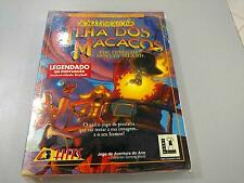 THE CURSE OF MONKEY ISLAND Game PC CD Lucas Arts NEW SEALED (PORTUGUES VERSION)