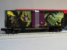 LIONEL DISNEY VILLAINS MALEFICENT BOXCAR O GAUGE 82718 train car 6-82719 NEW