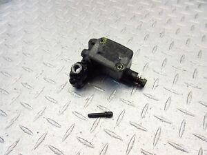 2012 12-16 Piaggio BV350 Beverly Rear Brake Master Cylinder Left OEM