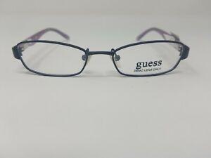 Guess Youth Eyeglass Frames GU9066 Black/Pink 46-16-130 YT10