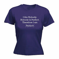 """/""""NOBODY IS PERFECT!/"""" Geschenk BEERTJE =/> OPSCHRIFT"""