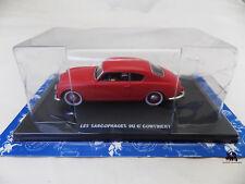 Miniature Voiture Blake et Mortimer Lancia Aurélia Sarcophages 6e Continent NEUF