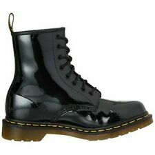Dr Martens Unisex 1460W Stiefel Schuhe Schwarz