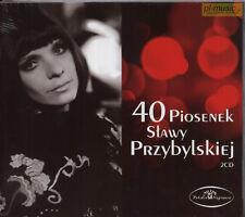= SLAWA PRZYBYLSKA - 40 PIOSENEK / 2 CD sealed
