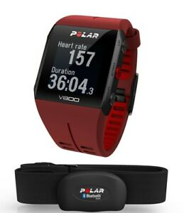 Polar V800 GPS sports watch Red Brand New