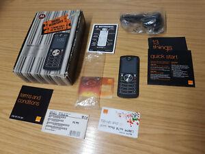 "Motorola MOTOFONE F3 2G 2.2"" Phone - New Condition in Box + PSU+Guide + sim card"