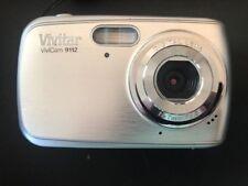 Vivitar ViviCam 9112 Digital Camera Silver with Case