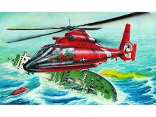 Trumpeter 1:48 HH65A Dolphin Search & Rescue Helicopter Model Kit 02801 TSM2801