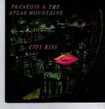 (CT972) Francois & The Atlas Mountains, City Kiss - 2012 DJ CD