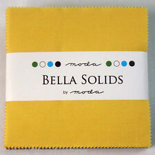 """Moda FABRIC Charm Pack ~ BELLA SOLIDS ~ 1930's COLLECTION ~ (9900PP 23) - 5"""" sqs"""