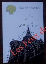 Carte postale Saint Savin, Compostelle ,Marc Ledogar CPSM