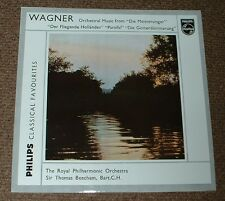 PHILIPS GBL 5635 WAGNER orchestral recital BEECHAM UK MONO LP
