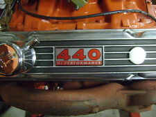 440 HI PERFORMANCE DECAL VALVE COVER DODGE CHRYSLER MOPAR STICKER