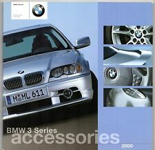 BMW 3-Series E36 & E46 Accessories 2000 UK Market Sales Brochure