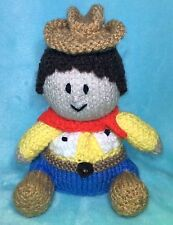 KNITTING PATTERN - Woody inspired choc orange cover / 15 cms Toy story Cowboy