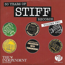 30 YEARS OF STIFF RECORDS: VOL 2 - PROMO CD (2008) THEATRE OF HATE,THE DAMNED ++