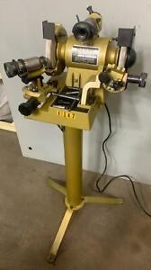 "DAREX M5 Precision Drill Sharpener, Grinder, (2) Chucks, 1/3 HP, 1/16"" - 1/2"", 1"