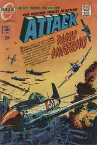 Attack (4th Series) #4 FN; Charlton | save on shipping - details inside