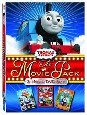 Thomas The Tank Engine & Friends 3 Movie Pack R1 DVD BOXSET