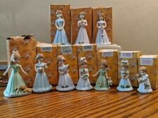 Growing Up Birthday Girls collection from Enesco, figurines ages 1-10