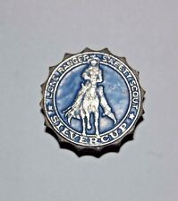 LONE RANGER SAFETY SCOUT BADGE PINBACK SILVERCUP MAIL-IN PREMIUM