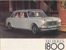 Morris 1800 Original UK Sales Brochure Pub. No. H&E 2339 May 1966