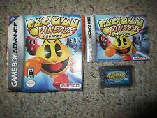 Pac-Man Pinball Advance 2006 (Nintendo Game Boy Advance, 2006) Complete GBA