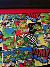 Embroidered Personalized STANDARD Pillowcase Teenage Mutant Ninja Turtles