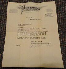 1931 St Louis Missouri Pillsbury Flour Mills Co letterhead