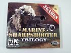 Marine Sharpshooter Trilogy Pc Cd Rom Computer Game, 3 Games