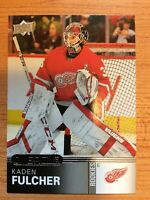 UPPER DECK OVERTIME WAVE 2019-2020 KADEN FULCHER ROOKIE HOCKEY CARD #58 CHICAGO