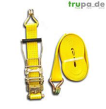Spanngurt 5to 50mm 15m Ergo-ratsche gelb