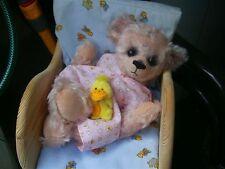Schnittmuster mit Anleitung (pattern) Bärenbaby *BABE * ,45 cm, von *gelibären*