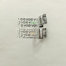 100pc~ Hologram VOID IF REMOVED Security Labels Tamper Evident Stickers Warranty