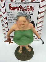 Jeff Foxworthy Folks Collectible Characters Premier Precious Redneck Figurine