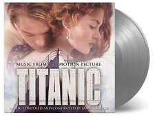 James Horner TITANIC SEALED NUMBER SILVER VINYL 180g 2xLP (MOVATM100) DiCaprio