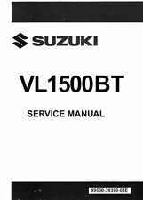 2013 2014 2015 2016 Suzuki Boulevard C90 C90T VL1500BT service manual on CD
